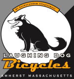 Laughing Dog Bicycles is a bike shop with a soul. And thank god for that. They have been our club bike shop since we began. Stop by for professional bike work, buy a bike, peruse old relics, and possibly pet a dog or two.